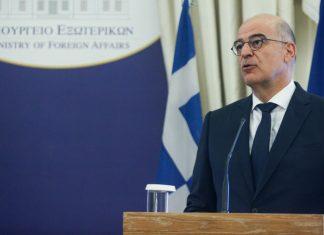 Δένδιας–Ντι Μάιο: Παράνομα και ανυπόστατα τα τουρκολιβυκά μνημόνια