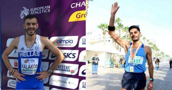 Οι πρωταθλητές Καλάκος και Μαλλιόγλου στον 4ο «Ξενοδάμειο» δρόμο