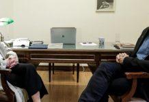 Ελλάδα 2021: Συνάντηση Βαρουφάκη με Αγγελοπούλου