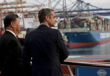 Επίσκεψη Μητσοτάκη - Σι Τζιπίνγκ στις εγκαταστάσεις της Cosco στον Πειραιά