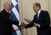 Δένδιας - Λαβρόφ: Αποσταθεροποιητικός ο ρόλος της Τουρκίας στην Ανατολική Μεσόγειο
