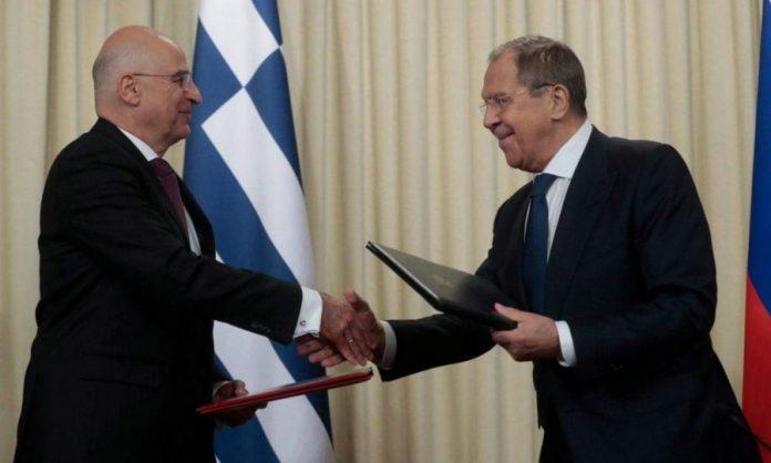Δένδιας σε Λαβρόφ: Η συνάντηση μας να σηματοδοτήσει την έναρξη ενός νέου κεφαλαίου στις σχέσεις Ελλάδας – Ρωσίας