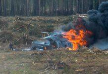 Συντριβή ρωσικού στρατιωτικού ελικοπτέρου με νεκρούς