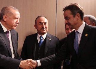 Μητσοτάκης σε Ερντογάν: Η συμφωνία Τουρκίας – Λιβύης είναι νομικά άκυρη