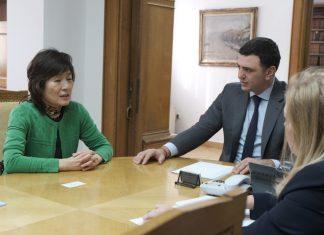Συνάντηση Κικίλια με την πρέσβη της Κίνας για τον νέο κοροναϊό