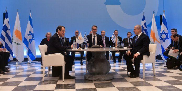 Υπεγράφη η συμφωνία Ελλάδας-Κύπρου-Ισραήλ - Μητσοτάκης: Ο EastMed δεν απειλεί κανέναν