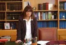 Σακελλαροπούλου: Θα δώσω όλες μου τις δυνάμεις για την εκπλήρωση του συνταγματικού μου ρόλου