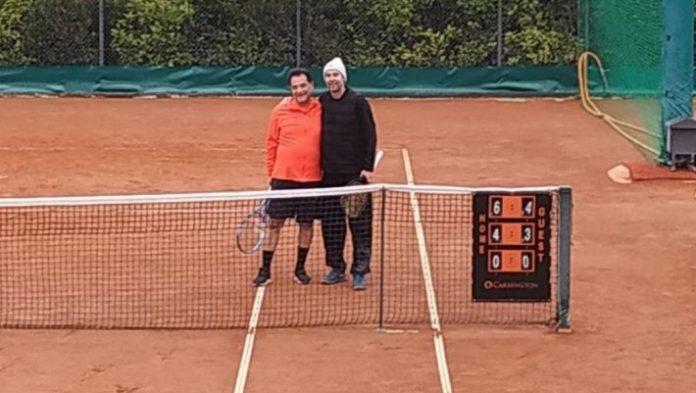 Ντέρμπι Άδωνι Γεωργιάδη και Βασίλη Τσιάρτα στο τένις!