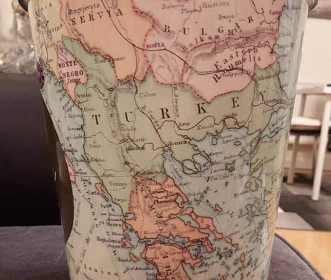 Στην Αγγλία πουλάνε καλάθι με χάρτη όπου η Τουρκία έχει φτάσει ως την Στερεά