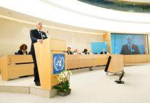 Δένδιας στον ΟΗΕ: Αντιμετωπίζουμε τις μεγαλύτερες ροές μεταναστών από τον Β' Παγκόσμιο Πόλεμο