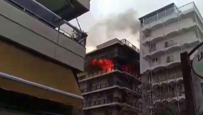 Παλαιό Φάληρο: Μεγάλη φωτιά σε σπίτι!