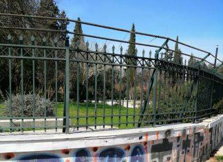 Δήμος Αθηναίων: Μεγάλη αντιγκράφιτι επιχείρηση στο Πεδίον του Άρεως