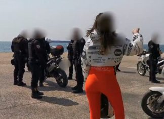 Θεσσαλονίκη: Έκλεισε η παραλία - Βρισιές αλλά και… συνωμοσιολογία κατά αστυνομικών