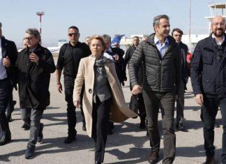 Μητσοτάκης: «Η Ευρώπη δεν θα υποκύψει σε εκβιασμούς της Τουρκίας»