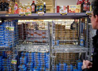ΙΤΑΛΙΑ: Επιδρομή στα σούπερ μάρκετ