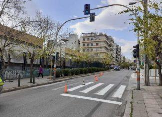 Δήμος Αθηναίων: Επαναδιαγράμμιση εκατοντάδων διαβάσεων πεζών