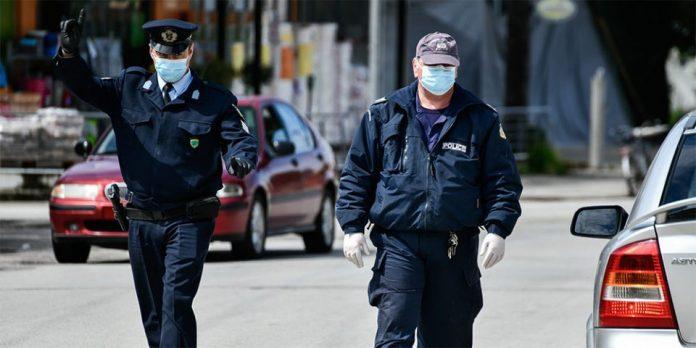 Πρόστιμα και συλλήψεις για παραβίαση των μέτρων κατά του κορωνοϊού