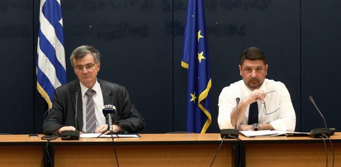 Ενημέρωση από Νίκο Χαρδαλιά, Σωτήρη Τσιόδρα για τον κορωνοϊό στις 6 το απόγευμα στο υπουργείο Υγείας