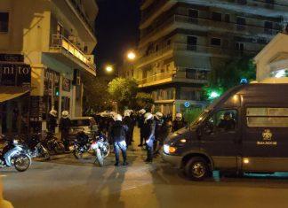 Κυψέλη: Πέντε συλλήψεις από τα χθεσινά επεισόδια