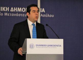 Μηταράκης: Κοινή ευθύνη της Ευρώπης η μεταναστευτική πολιτική