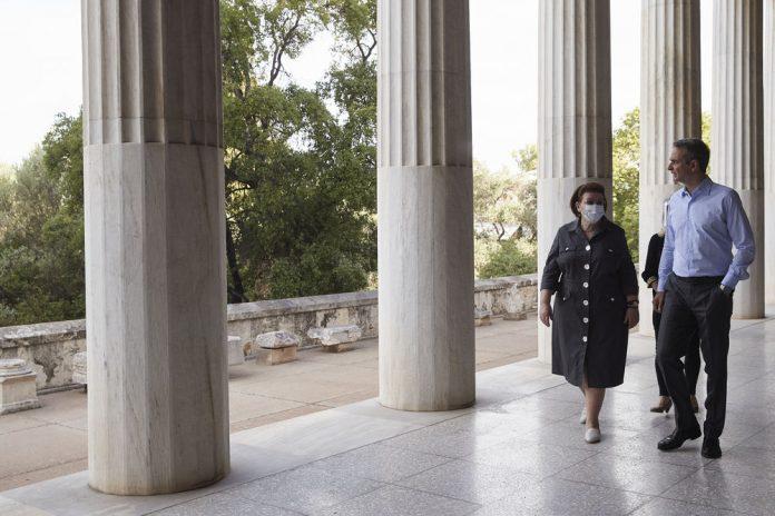 Μητσοτάκης από την Αρχαία Αγορά: Πρώτο μας μέλημα η ασφάλεια επισκεπτών και εργαζόμενων