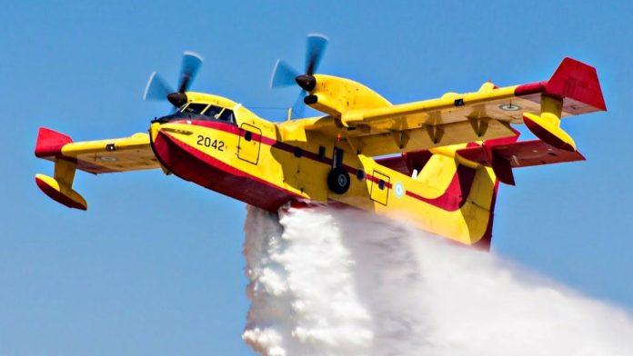 Αλεξανδρούπολη: Ισχυρές εναέριες και επίγειες δυνάμεις στην κατάσβεση της φωτιάς στη Λευκίμμη