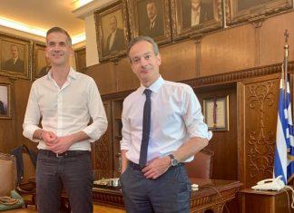 Δήμος Αθηναίων και Εμπορικός Σύλλογος Αθηνών ενώνουν δυνάμεις για τη στήριξη των επιχειρήσεων και την ενίσχυση της τοπικής οικονομίας