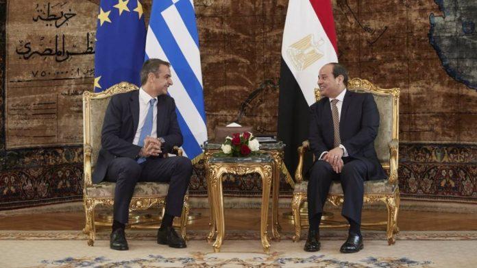 Η κατάσταση στην Ανατολική Μεσόγειο και τη Λιβύη βρέθηκαν στο επίκεντρο τηλεφωνικής επικοινωνίας που είχε νωρίτερα ο πρωθυπουργός Κυριάκος Μητσοτάκης με τον πρόεδρο της Αιγύπτου Abdel Fattah El-Sisi.