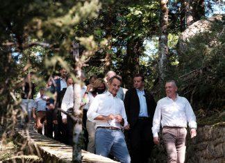 Μητσοτάκης: Η προώθηση του ορεινού τουρισμού αποτελεί κεντρική προτεραιότητα της κυβέρνησης