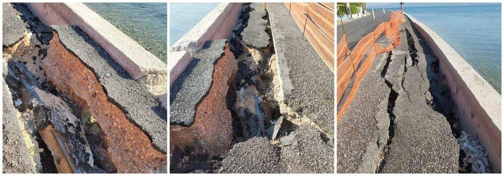 Κίνδυνος από τις καταστροφές στην παραλιακή Ωρωπού-Καλάμου