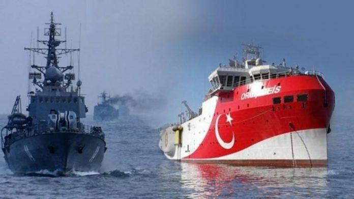Αποχωρεί η τουρκική φρεγάτα «Kemal Reis» από την ελληνική υφαλοκρηπίδα