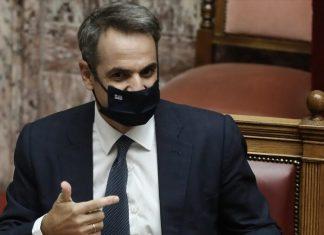 Μητσοτάκης: Εξέφρασε την ικανοποίησή του για την ανταπόκριση της ελληνικής κοινωνίας στις συστάσεις για συστηματική χρήση μάσκας