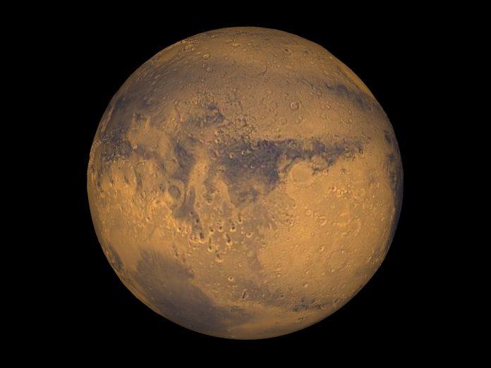 Πλανήτης Άρης: Νέες ενδείξεις για τέσσερις υπόγειες λίμνες με αλμυρό νερό στο νότιο πόλο