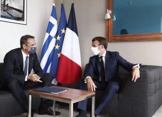 Μητσοτάκης-Μακρόν συμφώνησαν: Σταματούν οι προκλήσεις και αρχίζουν οι συζητήσεις, διαφορετικά ανοίγει ο δρόμος για κυρώσεις