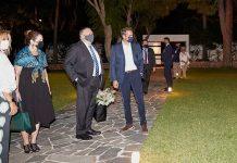 Χανιά: Ο Μάικ Πομπέο στο σπίτι του Κυριάκου Μητσοτάκη