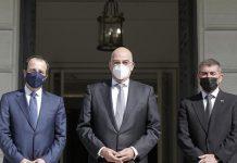 Δένδιας: Οι στενές σχέσεις Ελλάδας, Κύπρου, Ισραήλ εγγύηση ασφάλειας στην ευρύτερη περιοχή