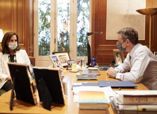 Συνάντηση Μητσοτάκη - Διαμαντοπούλου: Η Ελλάδα θα την προτείνει ως υποψήφια για τη θέση του Γενικού Γραμματέα του ΟΟΣΑ