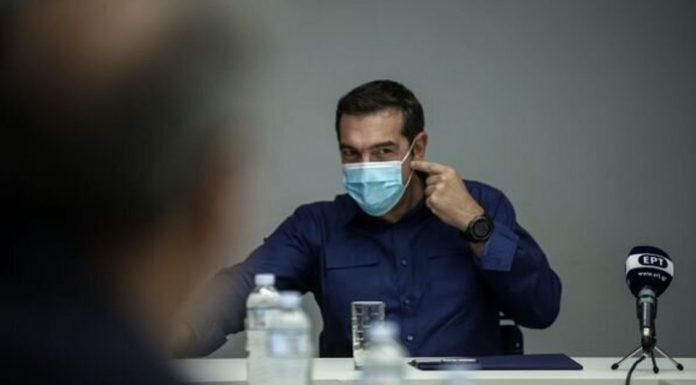 Τσίπρας: Ο Μητσοτάκης θα κληθεί να λογοδοτήσει στους πολίτες για την διαχείριση της υγειονομικής κρίσης