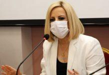 Γεννηματά: Το τρίτο κύμα της πανδημίας είναι εκτός ελέγχου