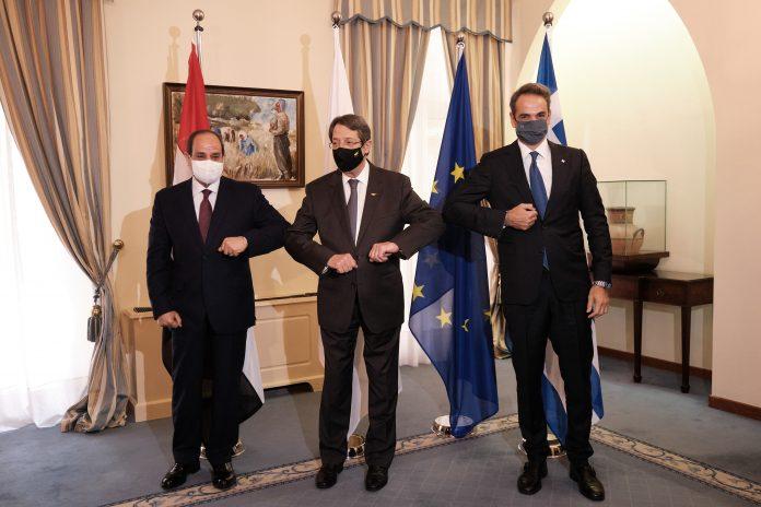 Μητσοτάκης - Σίσι: Κοινή θέση για την τουρκική προκλητικότητα