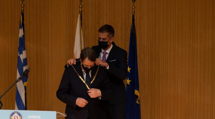 Πρόεδρος της Κυπριακής Δημοκρατίας Νίκος Αναστασιάδης