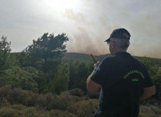 .Ζάκυνθος: Σε εξέλιξη η μεγάλη φωτιά στις Βολίμες