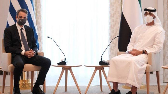 Μητσοτάκης: Ελλάδα και ΗΑΕ διαμορφώνουν ένα πλαίσιο στρατηγικής συμμαχίας