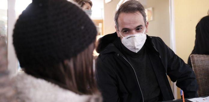 Μητσοτάκης από τα Γιαννιτσά: Τα κρούσματα σε όλη τη βόρεια Ελλάδα μειώνονται σταθερά