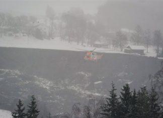 Νορβηγία: Κατολίσθηση άνοιξε τεράστιο κρατήρα καταπίνοντας πολλά σπίτια χωριού