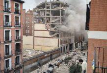 Μαδρίτη: Ισχυρή έκρηξη στο κέντρο – Διαλύθηκε πολυκατοικία