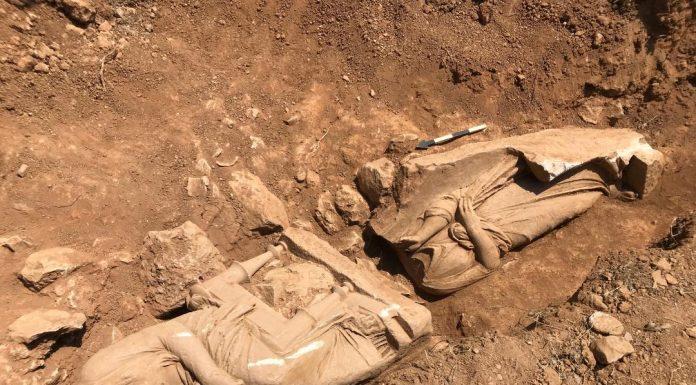 Παιανία: Αποκάλυψη ναόσχημου μνημείου