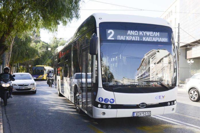 Δοκιμή νέων λεωφορείων σε Αθήνα και Θεσσαλονίκη
