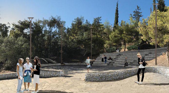 Ο λόφος του Στρέφη ξαναγίνεται τόπος περιπάτου και αναψυχής