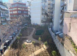 Δήμος Αθηναίων: Pocket park Παγκρατίου